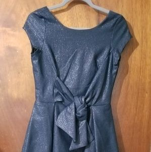 ASOS dark navy dress